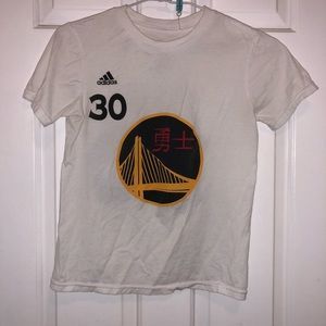adidas Tops - Warriors 2017 Chinese New Year Curry t-shirt